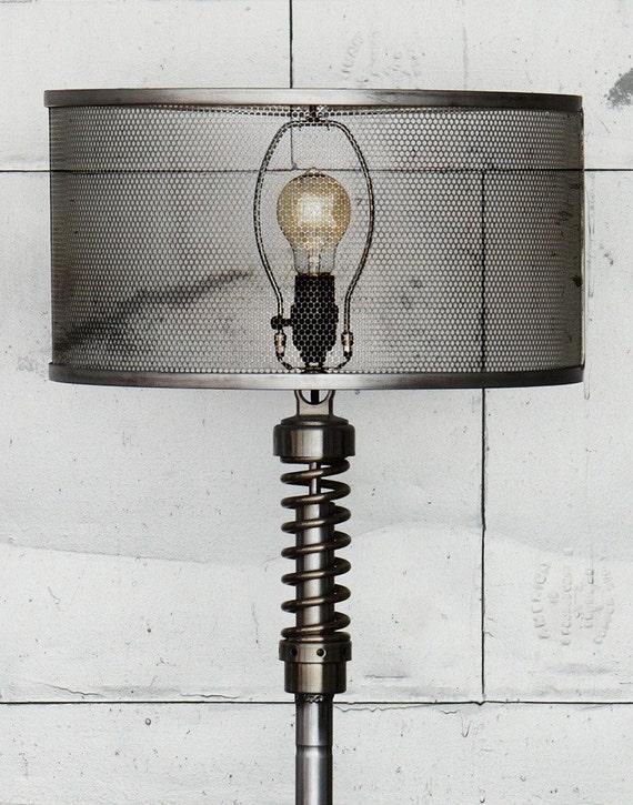 custom metal mesh shade. Black Bedroom Furniture Sets. Home Design Ideas