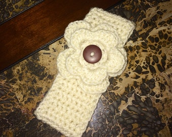 Infant Flower Ear Warmer