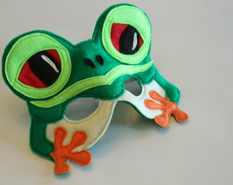 Silus the Red Eyed Tree Frog for pretend play costume