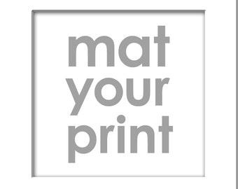 White Art Mat