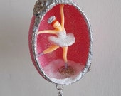 I'd Rather Be Dancing Ballerina Egg Ornament
