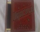 Dracula Book Box - Book Jewelry Box - Bram Stoker - Wooden Jewelry Box with Drawer - Bram Stoker's Dracula Jewelry Box - Dracula Jewelry Box