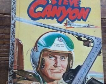 Vintage Steve Canyon Golden book