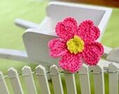 Crochet Flower PATTERN Crochet Primrose Flower Embellishment PDF
