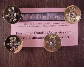 12 Gauge Shotgun Shell Magnets Repurposed Recycled