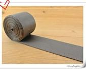 5 yards of  2 inch (5cm) Heavy weight Nylon webbing Deep gray ZD82