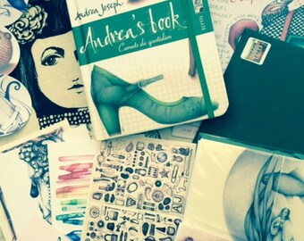 SPECIAL OFFER: The Andrea Joseph Bumper Pack! Book, zines, badges, postcards and stickers.