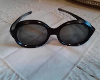 Big Thick Nerdy Fifties Sunglasses