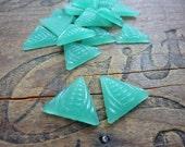 Cabochon Light Jade Green Art Deco Cabochon (2)