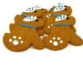 Dog Treats - Hanukkah Dogs - All Natural Dog Treats Organic Vegetarian - Shorty's Gourmet Treats