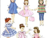 DOLL CLOTHES PATTERN - Fits American Girl and 18 Inch Dolls / Vintage Style / 50s / Shirley Temple