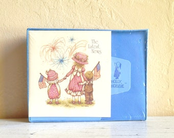 Vintage Holly Hobbie Set of Cards Upopened Stationary New Old Stock