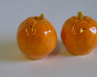 Pumpkin Salt and Pepper Shakers
