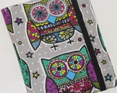 Kindle Paperwhite Cover, Hard Cover, Kindle Fire HD, Retro Owls eReader Case