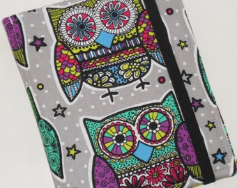 Kindle HD 8 Retro Cool Owl Cover Case READY to ship for the HD 8