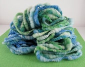 Hampton - Curvy Coiled Handspun Merino Art Yarn - 25 yards