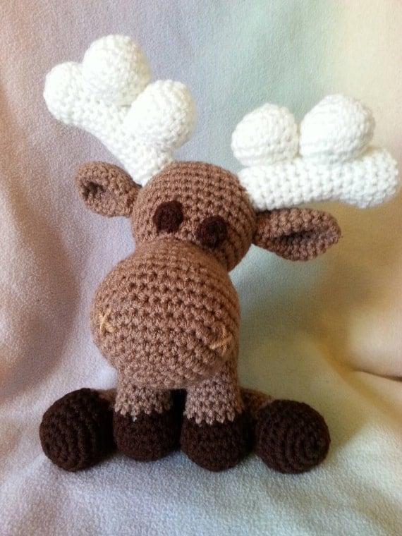 Amigurumi Moose : amigurumi crochet moose by crysbrite on Etsy
