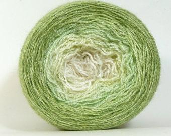 Mirth Alpaca/Silk Lace Gradient Shawl Maki - Dogwood