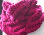Instant Download pdf Hand Knitting Pattern  - Waves