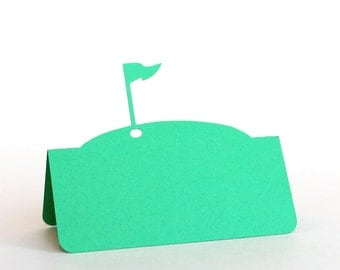 Golf Flag Pin Place Cards Set of 50, golf wedding, wedding place card, wedding escort card