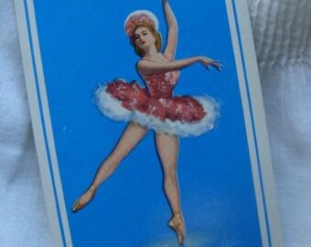 Antique Christmas Signature Ballerina Ballet Dancer Ballet Trade Playing Cards Card Lot