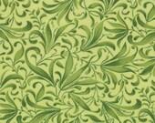 Green Vine Leaf Fabric - Fresh Picked - Moda - 32835 13