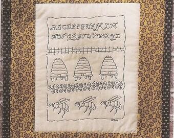 Marigold's Bee Garden Sampler ePattern
