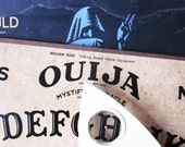 vintage ouija board with box, William Fuld mystifying oracle with planchette,  talking board set