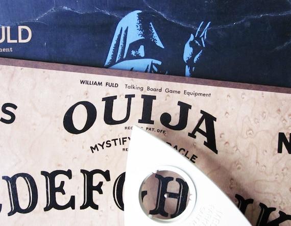 Vintage Ouija Board Box Vintage Ouija Board With Box