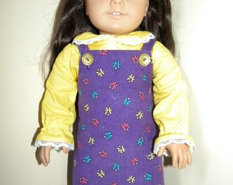 Jumper and blouse for 18 inch doll