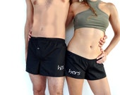 HIS and HERS Personalized Couple  Shorts Mr and Mrs Set Gifts for Couples/  Custom Wedding Gift