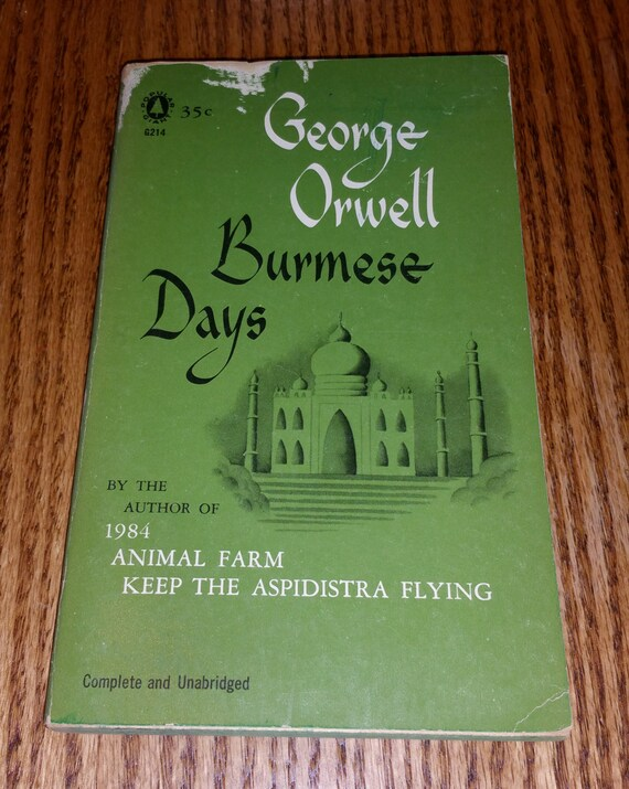 a book report on burmese days by george orwell Burmese days, keep the aspidistra flying, coming up for air by george orwell in djvu, epub, fb3 download e-book.