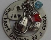 JBK My Heart Belongs to a COACH necklace