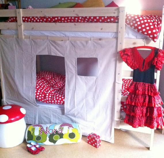 Bunk Bed Tent Animals Design