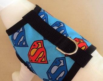 Superman Dog Harness Vest