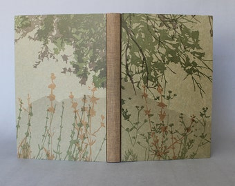 Where Stucco Meets Chaparral - Limited edition, hand bound, letterpress printed artist's book