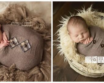 ReVerSiBLe Newborn Photo Props Cocoon, RTS Judd Brown Newborn Props Snuggle Sack, Newborn Photography Props, Baby Props, Sleeper Sack, Brown