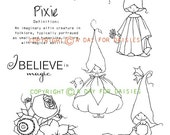 Pixie Play Clear Polymer Stamp Collection
