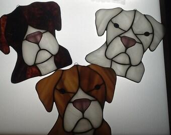 Boxer Puppy Suncatcher