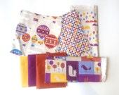 Fabric Scrap Pack, Fabric Bundle, Destash, Designer, Vintage, Quilting, Craft.