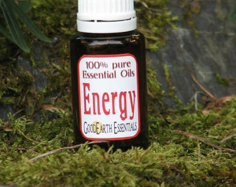Energy - reduce fatigue with pure Essential Oils