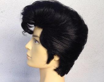 Elvis Presley Adult Men's Costume Wig -  A True Enchantment Original