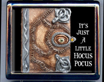 Hocus Pocus Winifred's Book Inspired Pill Box