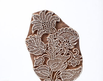 Sale Hand carved wood stamp 298