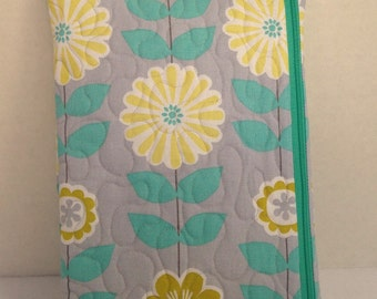 Francesca Flowers Diaper and Wipes Tote