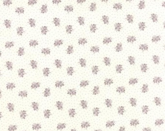 SALE Whitewashed by 3 sisters for Moda Rose shirting in lavender 1 yard    YES!! Continuous fabric cuts and combined shipping