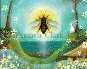 Art print by Amanda Clark. 'Summer Solstice'.