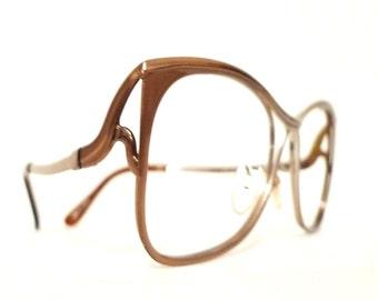 Huge Cat EYe Glasses Big Mod Metal Gold Plate  Eyeglass Frame Butterfly Sunglasses Women Men Aluminum Electroplate sale BUg Eye Disco Granny