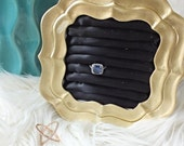 Cleopatra inspired Gold and Black Ring Organizer/Display - only ONE available.