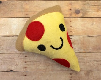 Plush Pizza Stuffed Toy